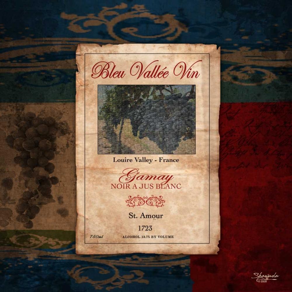Gamay Wine Label Eva, Shawnda 46214