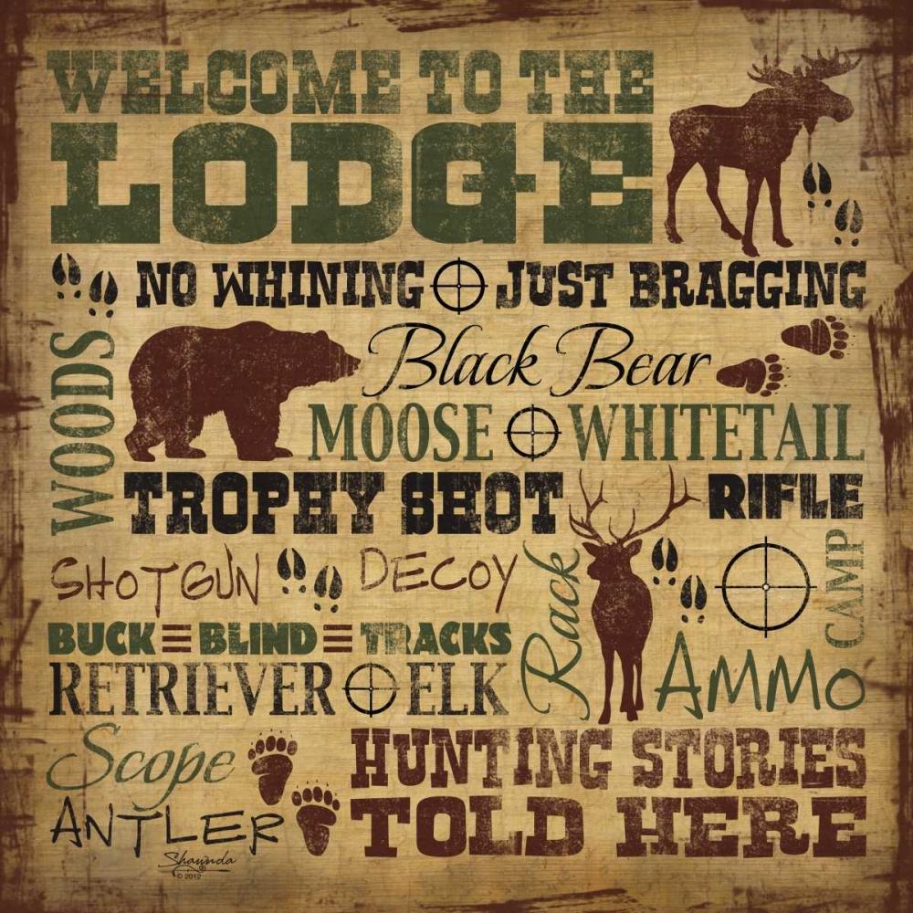 Welcome to the Lodge - Hunting Craig, Shawnda 60250