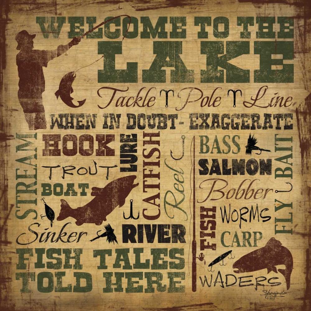 Welcome to the Lake - Fishing Craig, Shawnda 60251