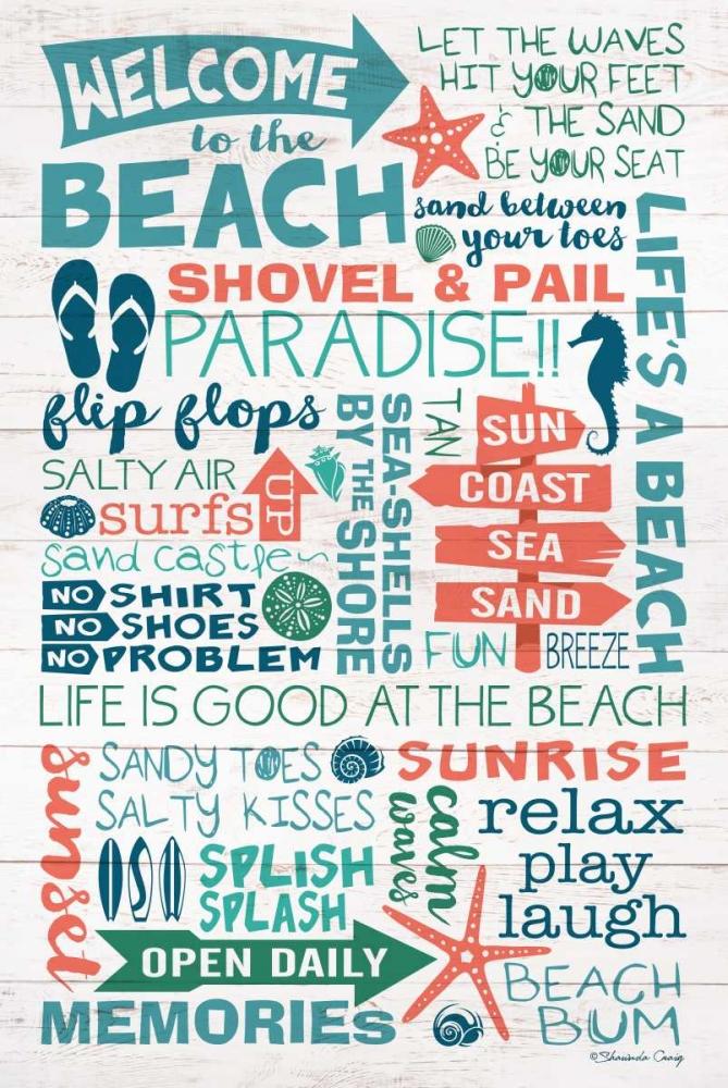 Welcome to the Beach Craig, Shawnda 105077