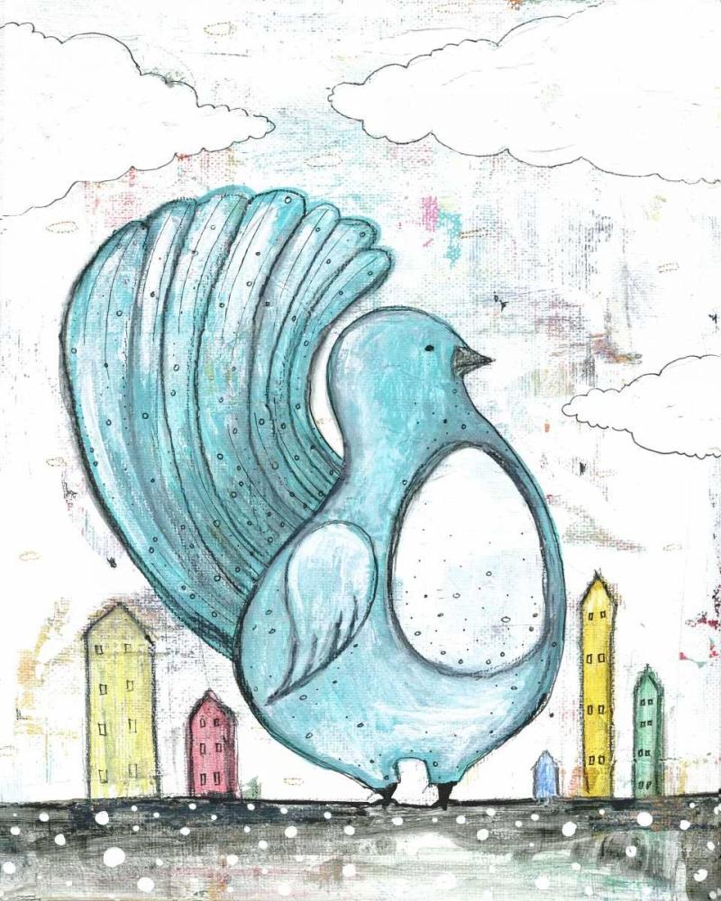 Big Blue Bird Ogren, Sarah 66695