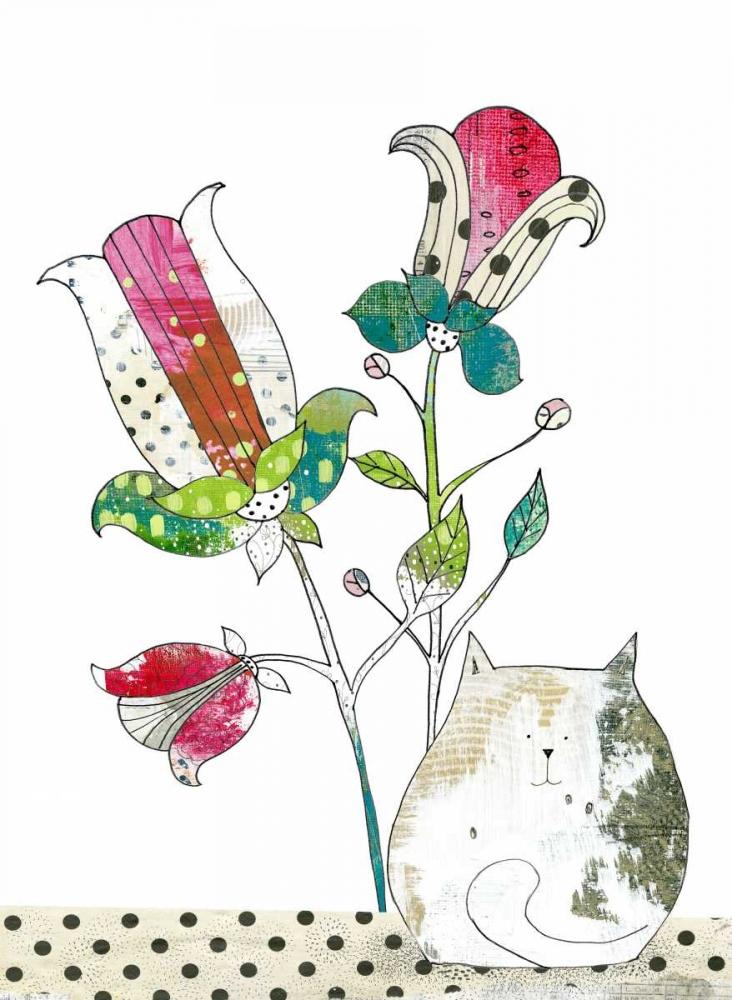 Calico in the Flowers Ogren, Sarah 66707