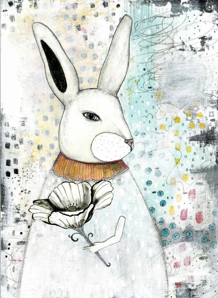 The Rabbit and the Flower Ogren, Sarah 77759
