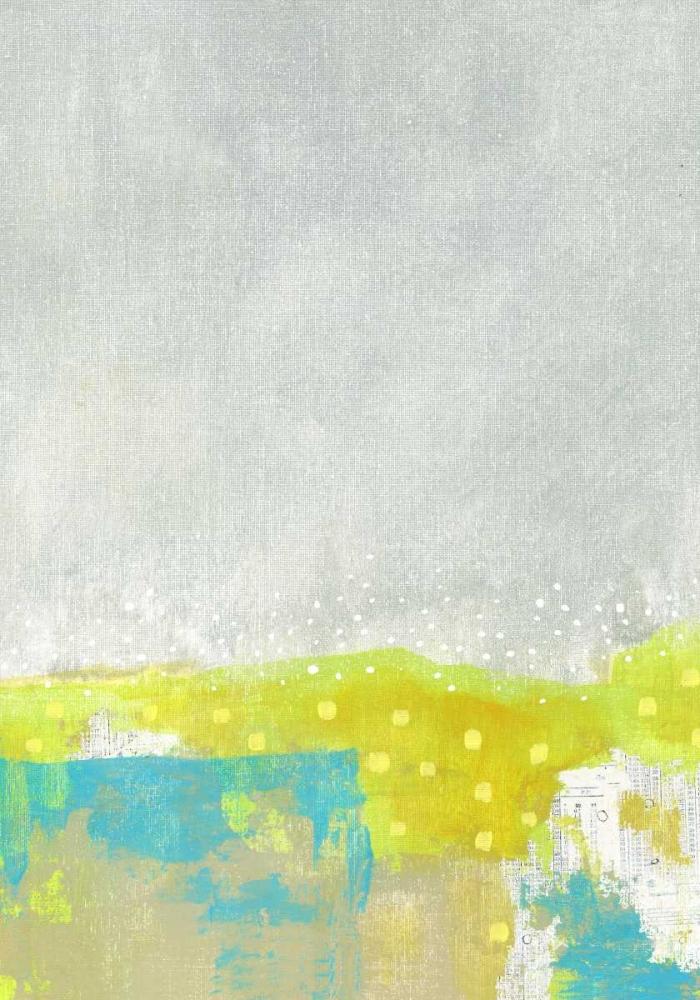 Yellow Abstract Flowers II Ogren, Sarah 120125