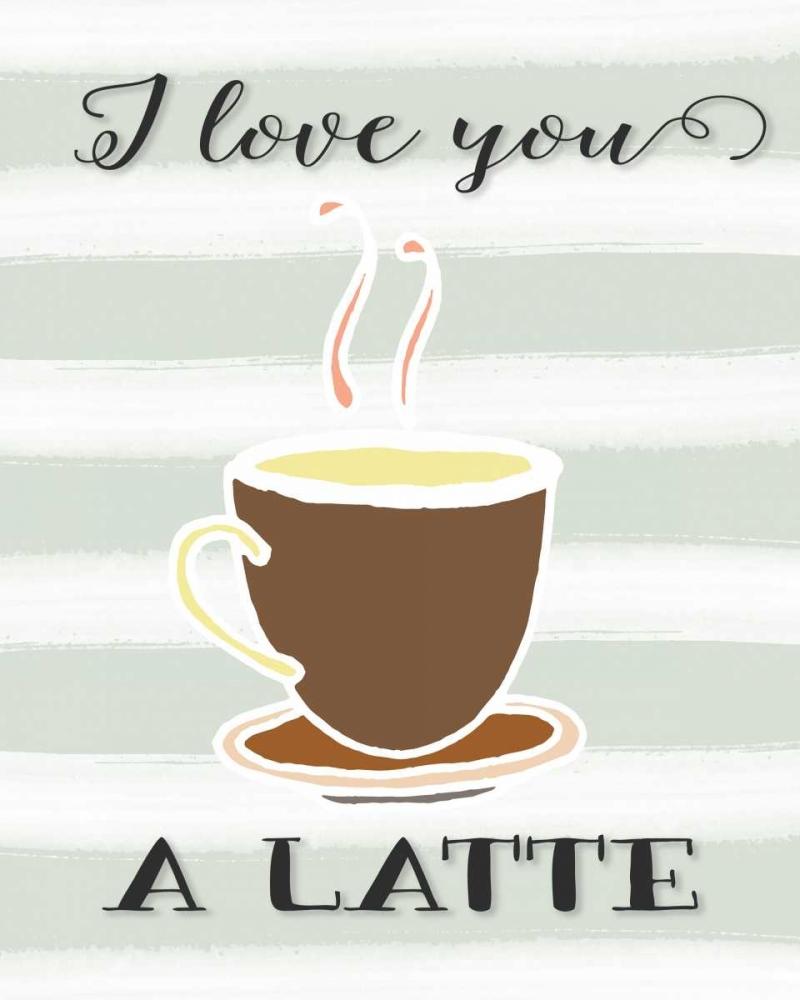 I Love You a Latte Moss, Tara 55950