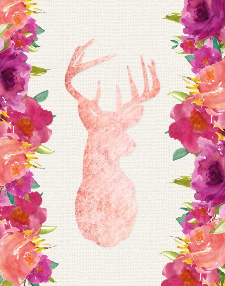 Floral Deer Head Moss, Tara 63247