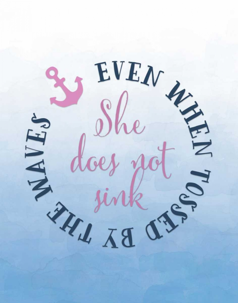 She Does Not Sink - Pink Moss, Tara 81181