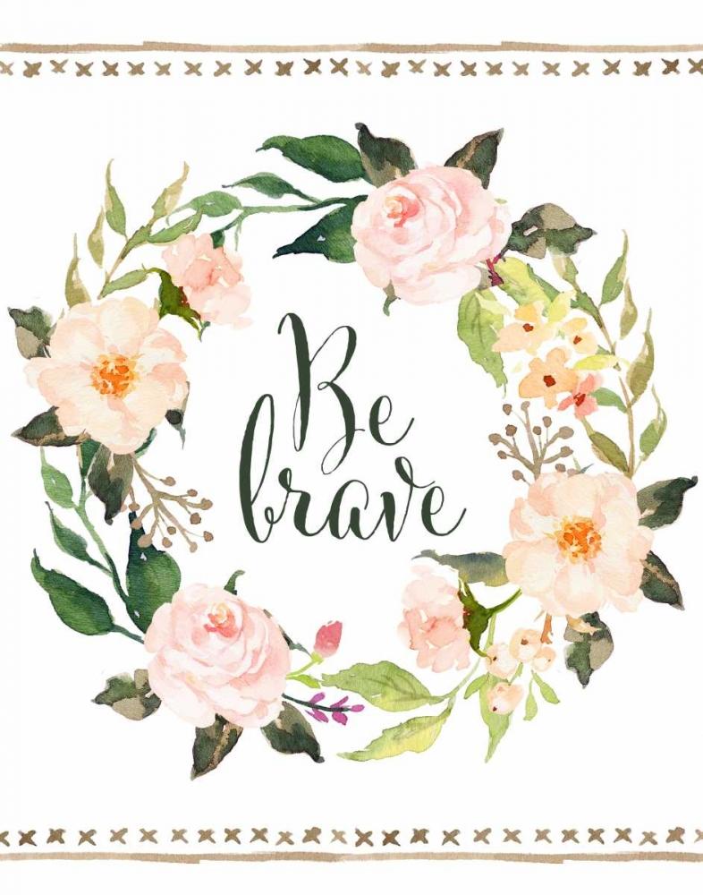 Be Brave Wreath Moss, Tara 88682