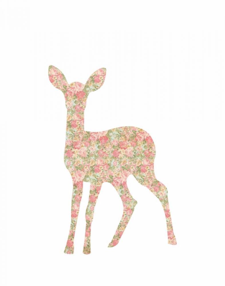 Shabby Chic Deer I Moss, Tara 88705