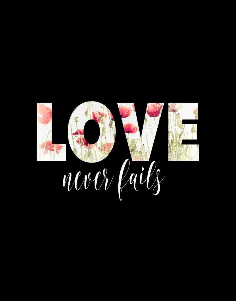 Love Never Fails Floral Moss, Tara 97556