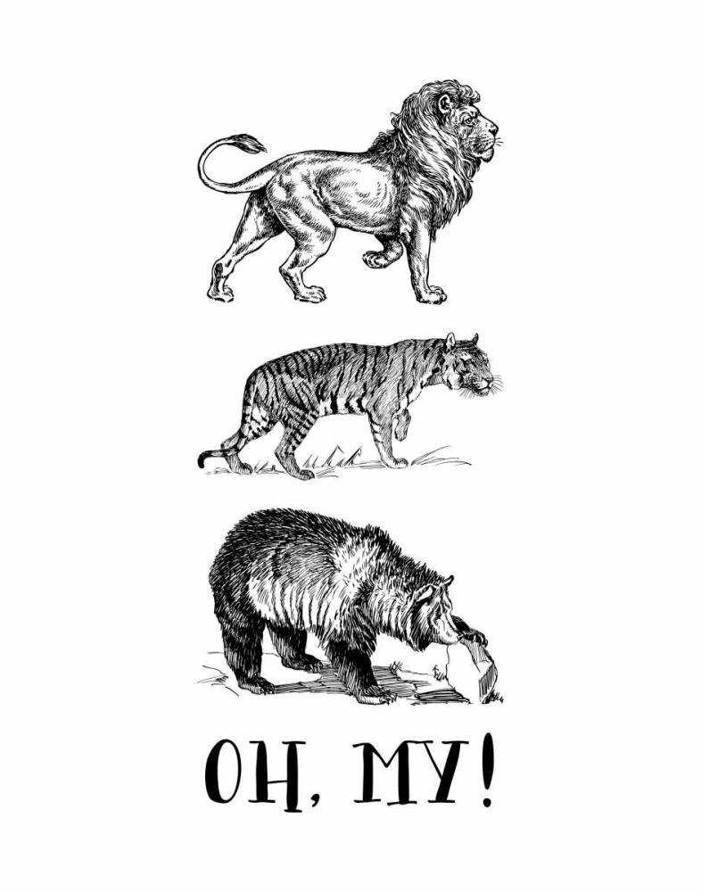 Lion Tiger Bear - Oh My! Moss, Tara 97559