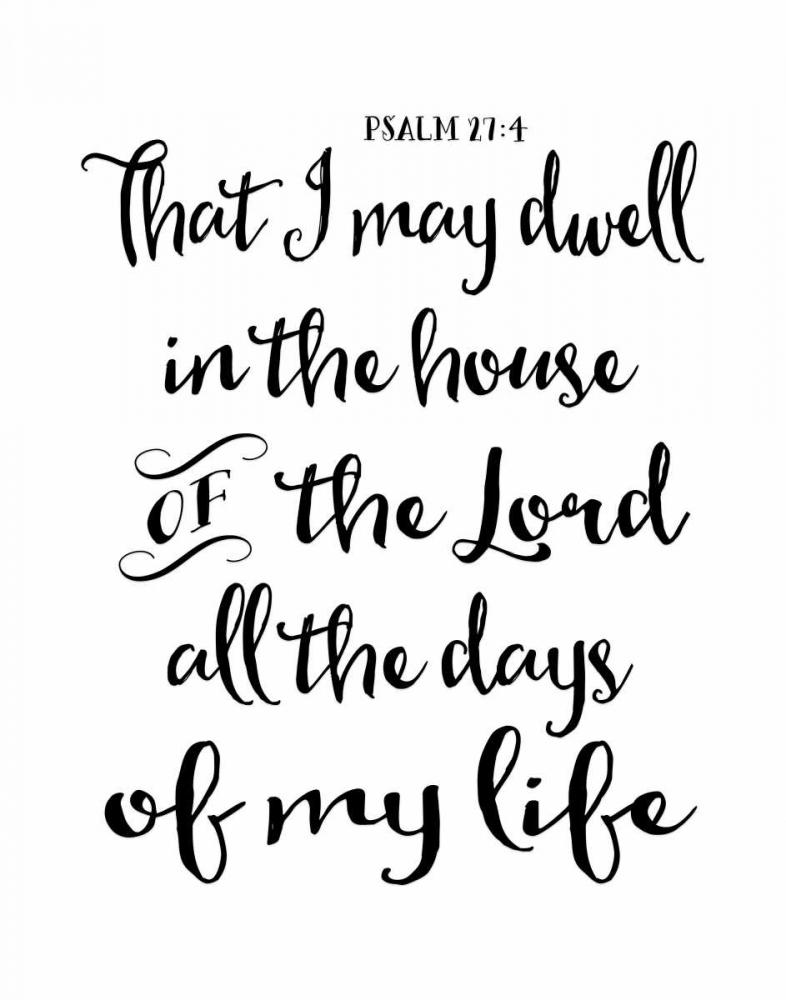Psalm 27-4 Moss, Tara 118693