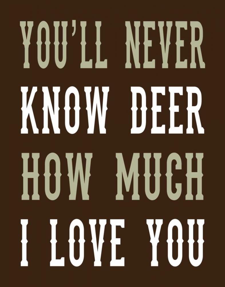 Deer Love Woods Robinson, Tamara 83525