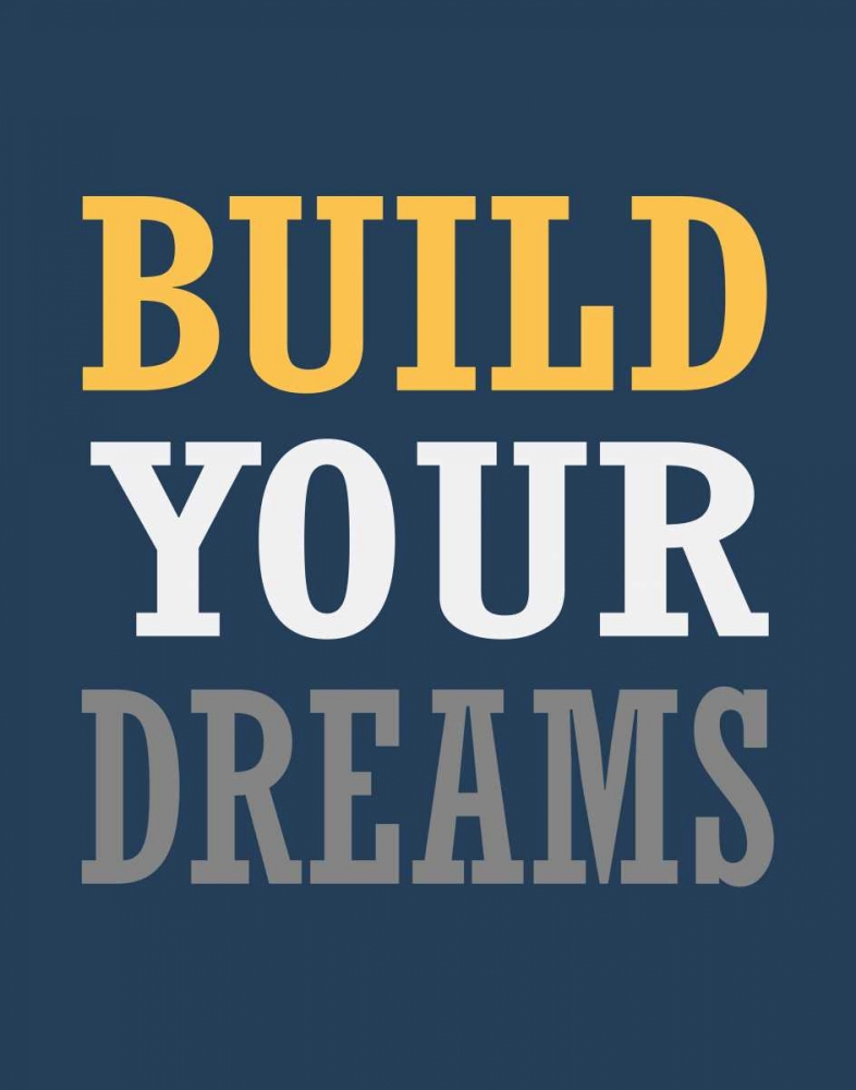 Build Your Dreams Robinson, Tamara 99925