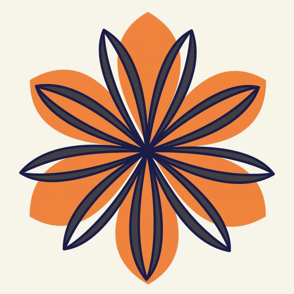 Flower Outline 1E Robinson, Tamara 105227