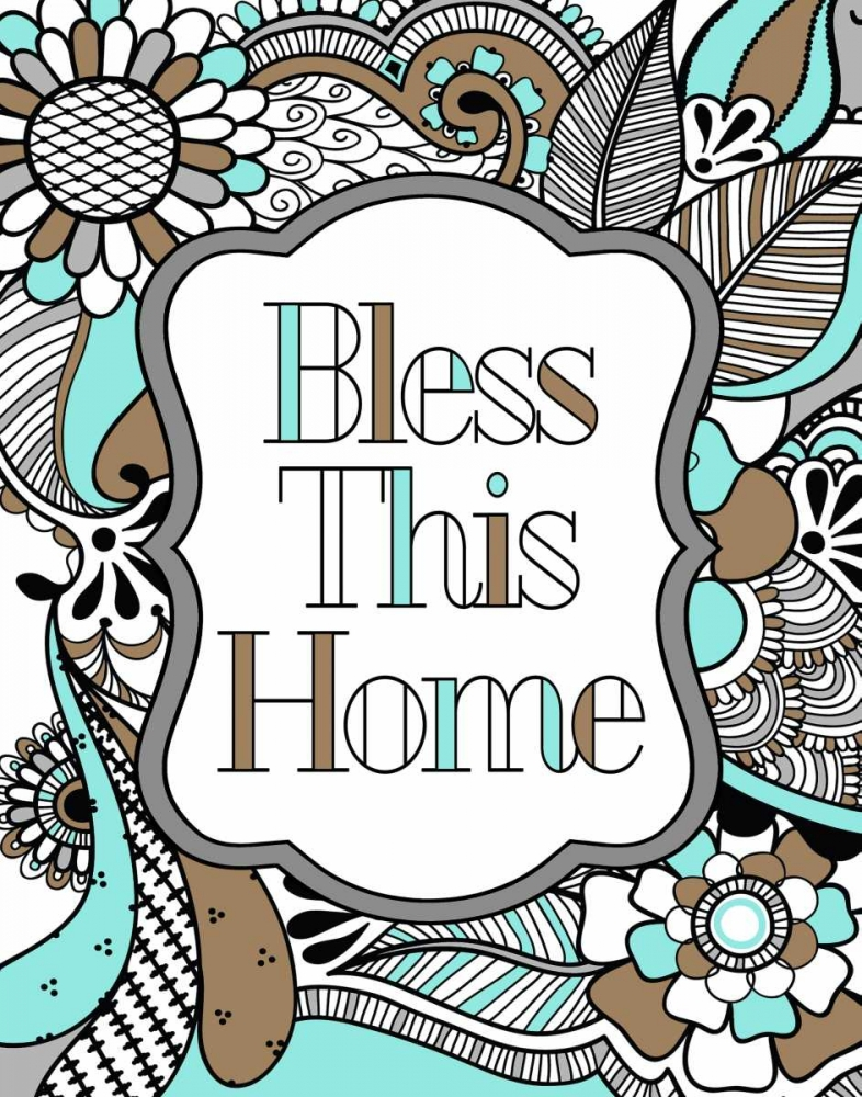 Bless This Home Color Robinson, Tamara 100084