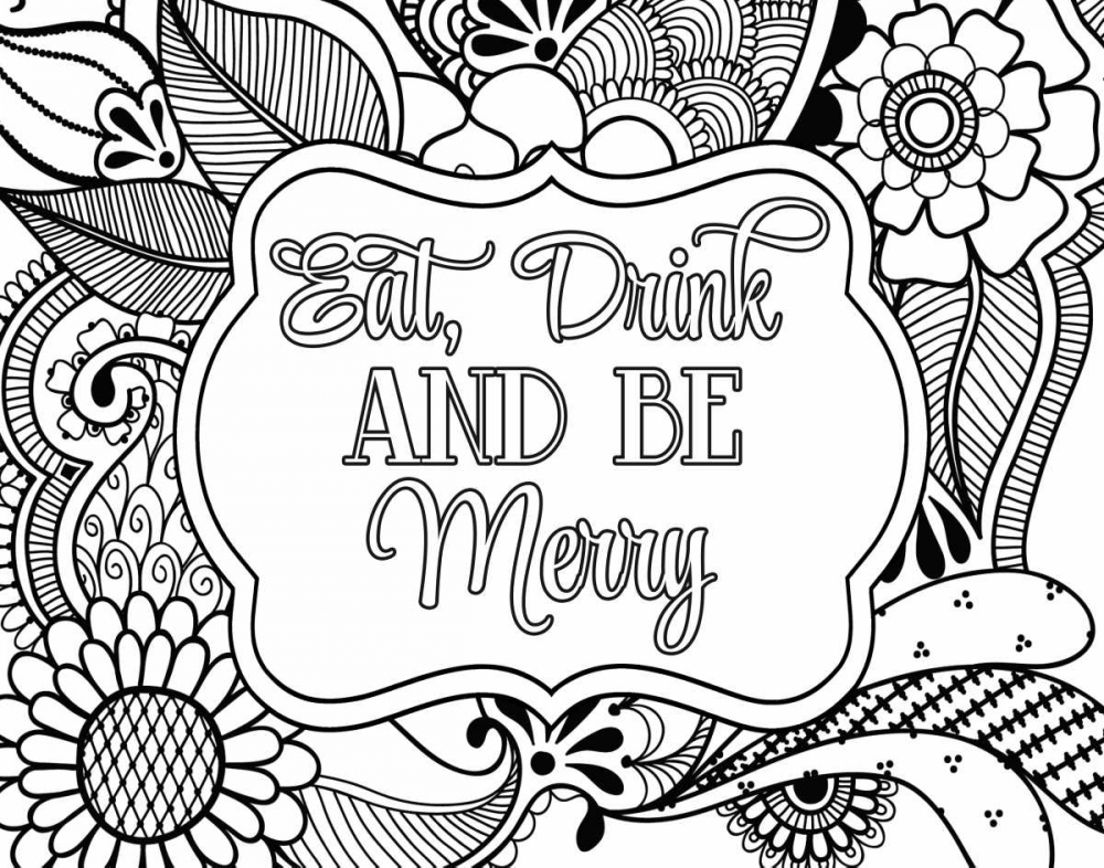 Eat, Drink and Be Merry Robinson, Tamara 100095