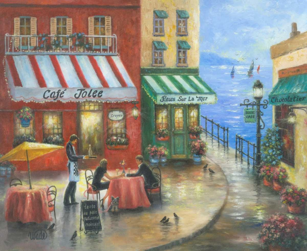 French Cafe by the Sea Wade, Vicki 42260