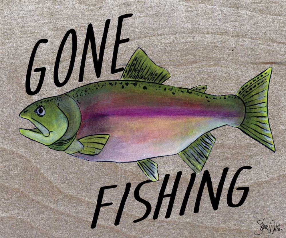 Gone Fishing Welsh, Shanni 62306