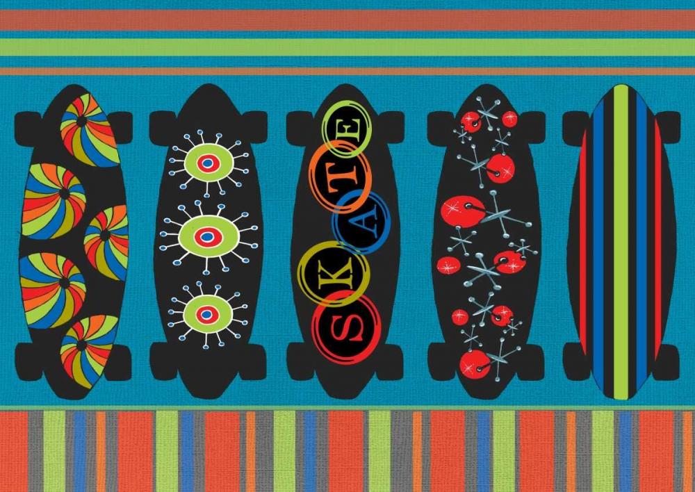 Skateboard III Welsh, Shanni 66827