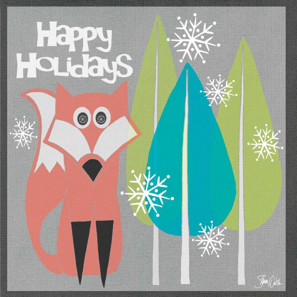 Retro Holiday Fox I Welsh, Shanni 72993