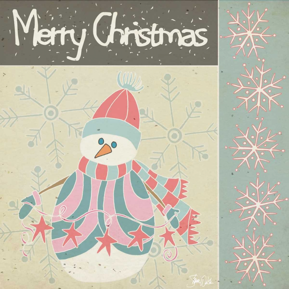 Merry Christmas Snowman Welsh, Shanni 72997