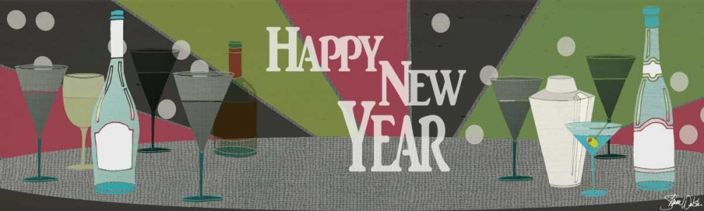 New Years Banner Welsh, Shanni 73008