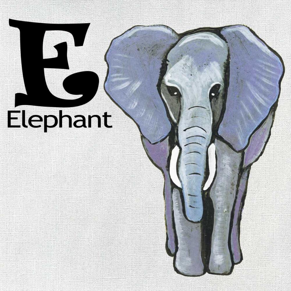 E - Elephant Welsh, Shanni 73015