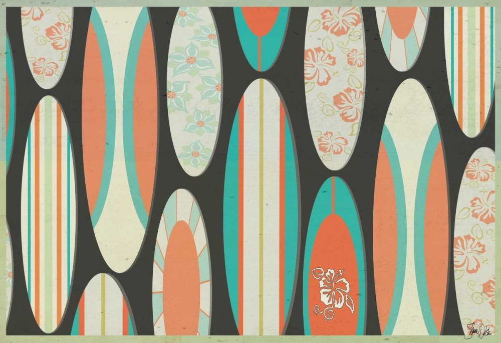 Surf Board Pattern Welsh, Shanni 100176