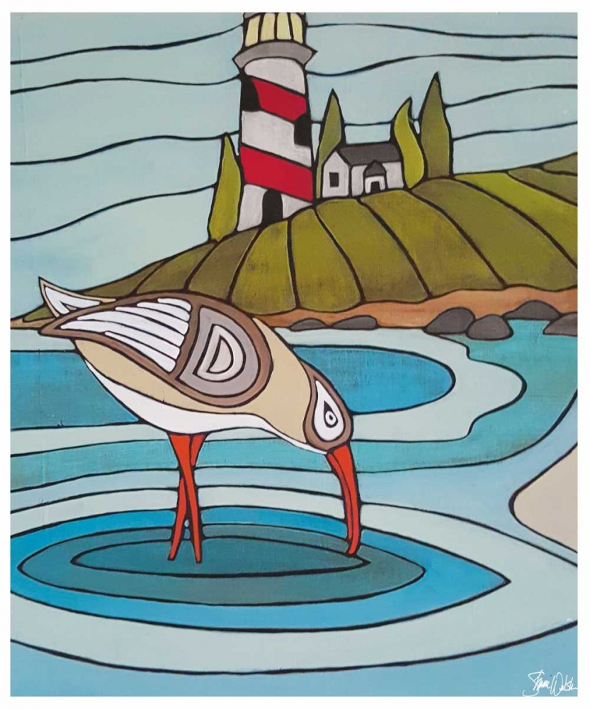 Sandpiper and Lighthouse Welsh, Shanni 100226