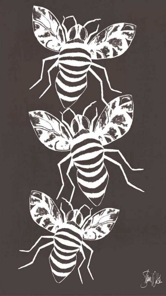 Cyanotype Bees Welsh, Shanni 149579