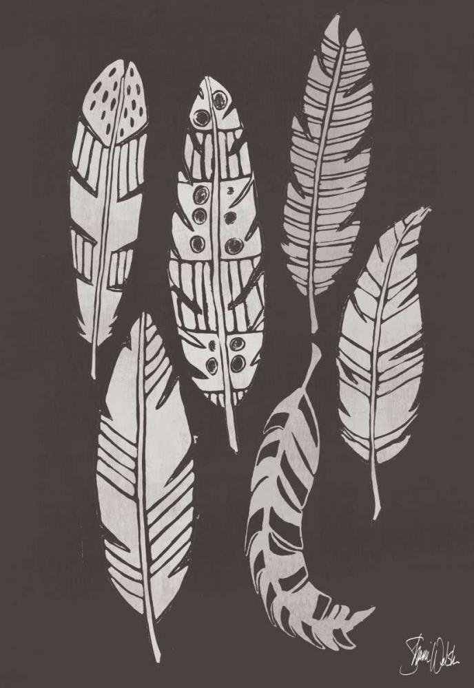 Cyanotype Feathers I Welsh, Shanni 149586