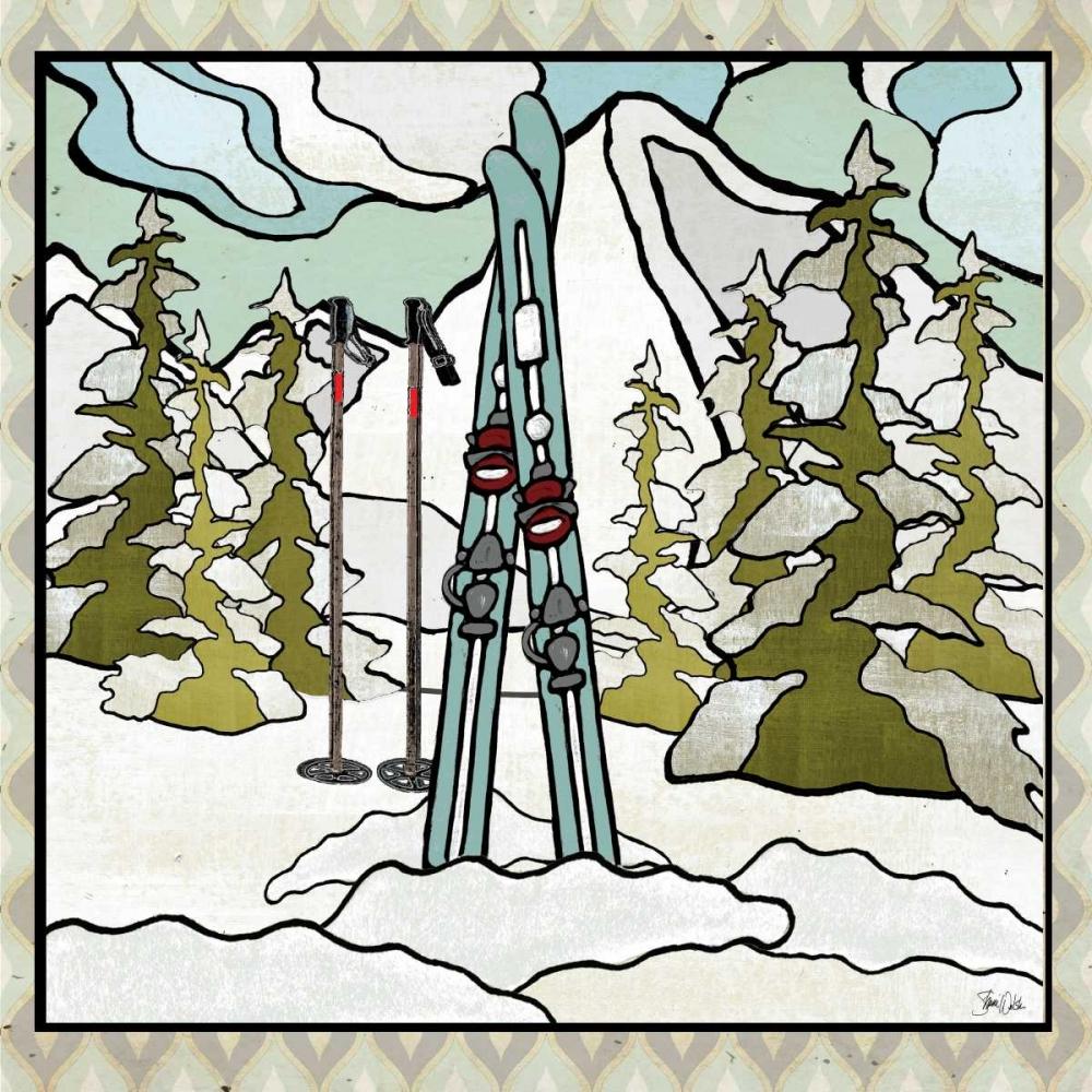 Retro Snow Skis Welsh, Shanni 154135