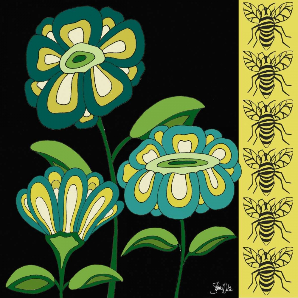 Floral and Bees Welsh, Shanni 157406