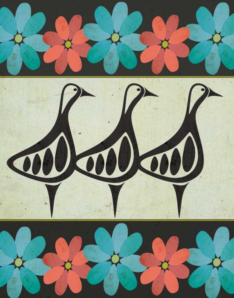 Geese and Floral II Welsh, Shanni 157421