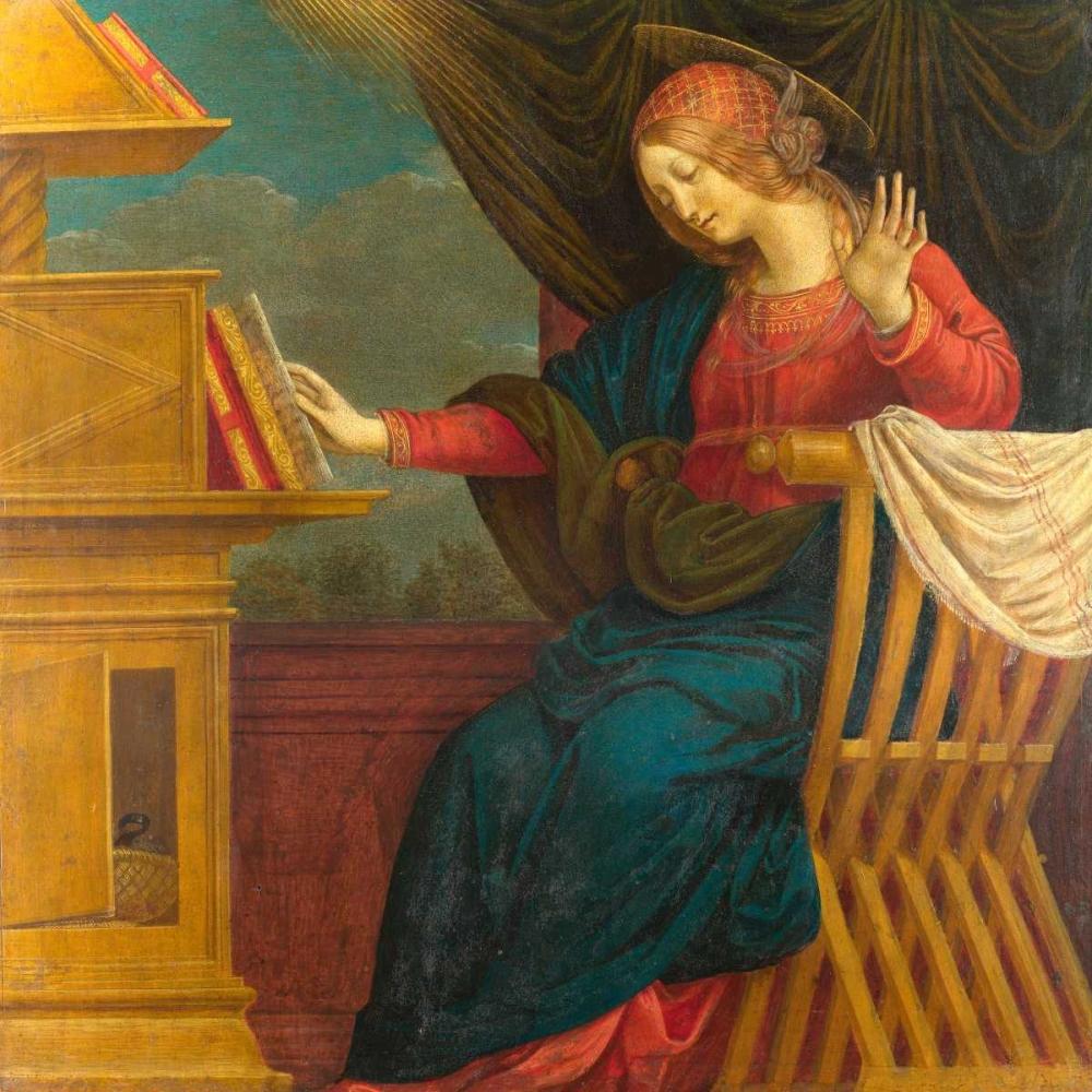 The Annunciation, The Virgin Mary Ferrari, Gaudenzio 162797