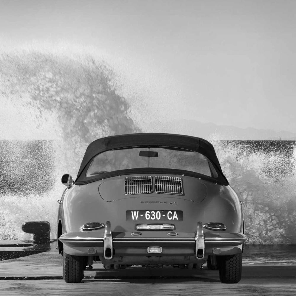 Ocean Waves breaking on Vintage Beauties (detail 1) Gasoline Images 148949