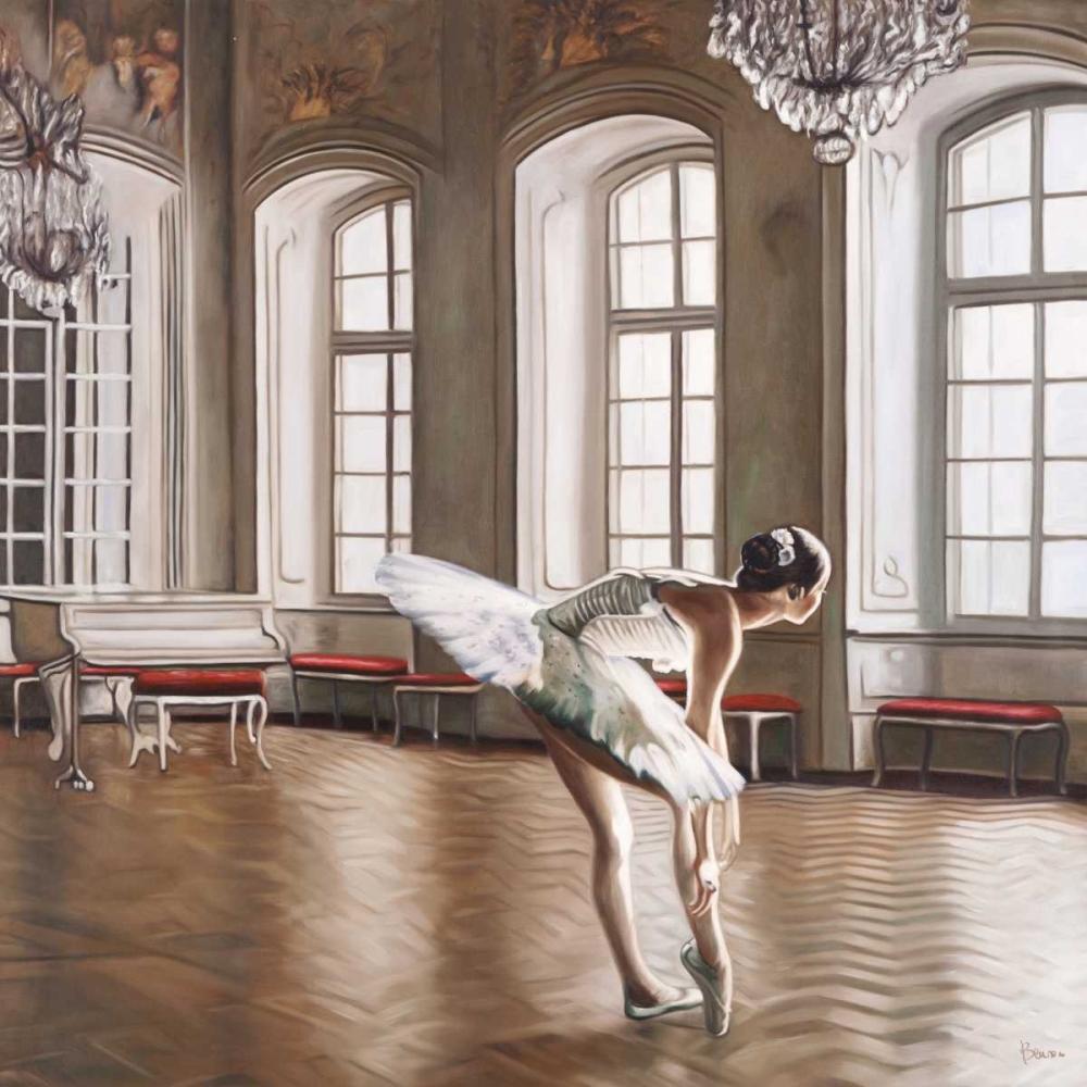 Rehearsing Ballerina Benson, Pierre  64981