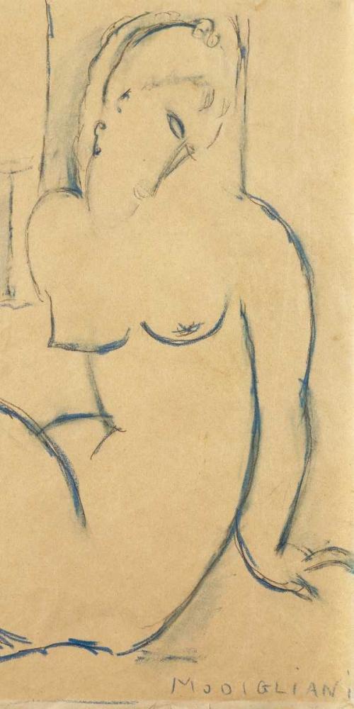 Seated Woman Modigliani, Amedeo 43133