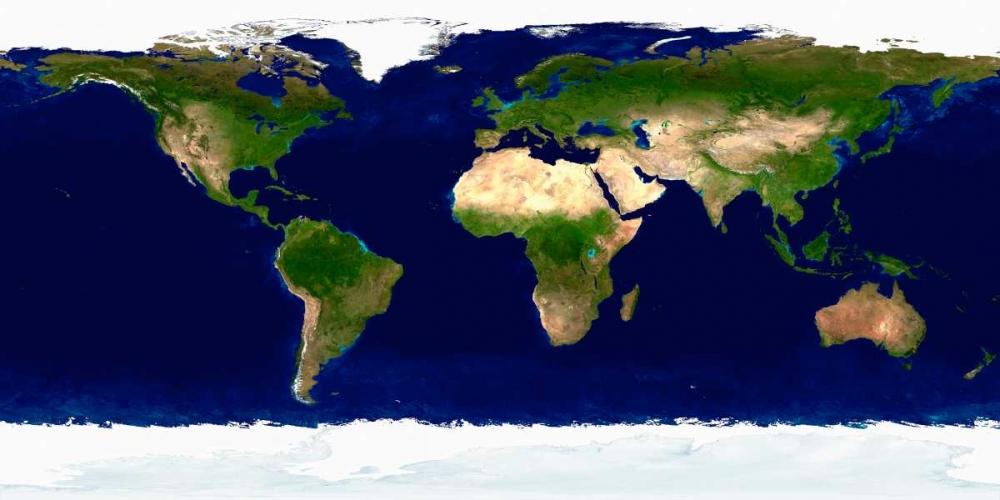 Earth in Daylight Nasa 78201
