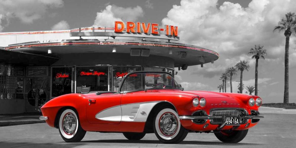 Historical diner, USA Gasoline Images 117843