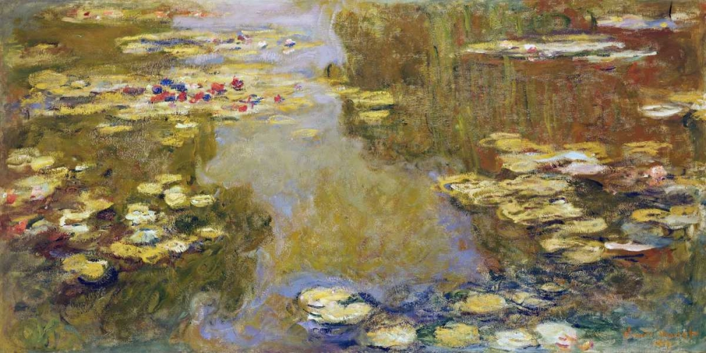 The Lily Pond Monet, Claude 43247