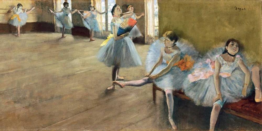 The Dance Class (detail) Degas, Edgar 162783