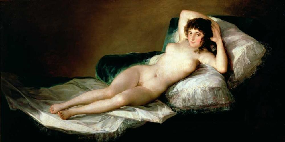 La Maja desnuda Goya, Francisco 162811