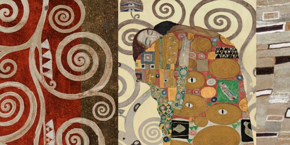 The Embrace-Pewter Klimt, Gustav 43144