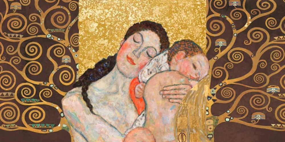 Motherhood II Klimt Patterns 117925