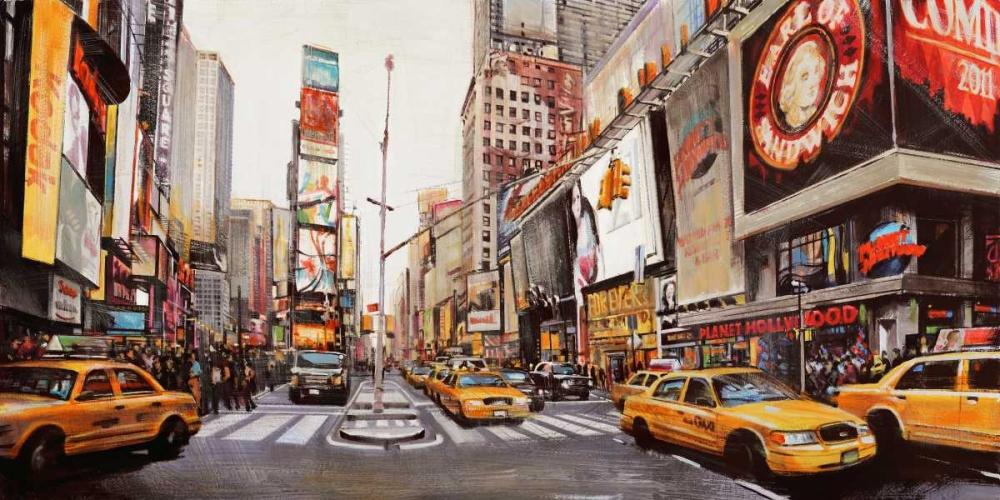 Times Square Perspective Mannarini, John B. 42921