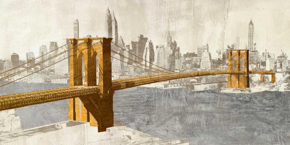 Gilded Brooklyn Bridge Joannoo  78170