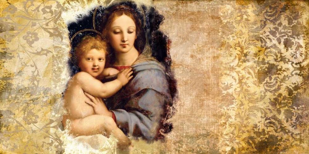 Madonna del Candelabro-after Raffaello Roux, Simon 42904