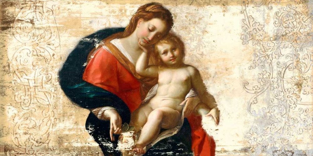 Madonna and Child-after Procaccini Roux, Simon 47906